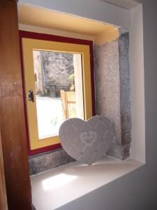 fenêtre coeur