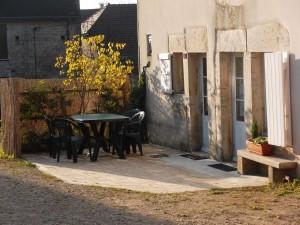 terrasse automne